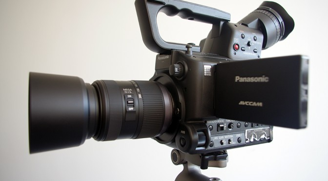 Moderate Slow Motion Also Makes An Impression: Panasonic AG – AF100