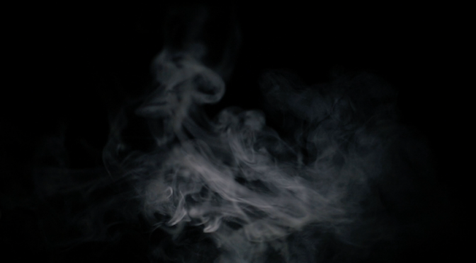 Smoke in a black background. Free HD video footage