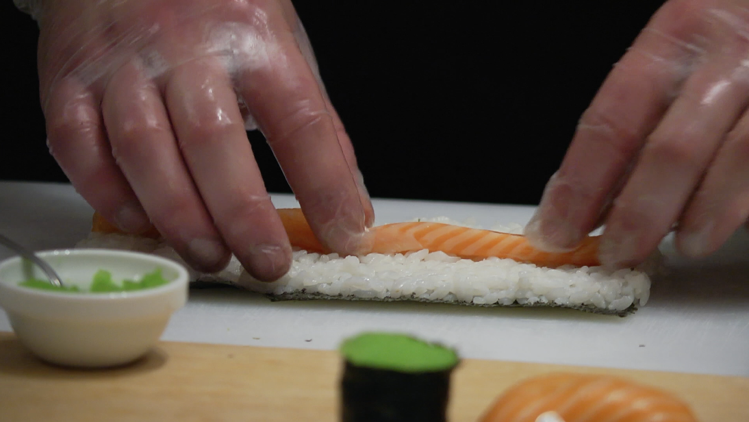 sushi-making-training-class-free-hd-video-footage